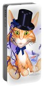 Kitticat Party Design Portable Battery Charger