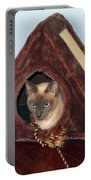 Kitty A-frame Portable Battery Charger