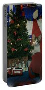 Kitty Says Merry Xmas Portable Battery Charger
