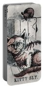 Kitty Sly Portable Battery Charger