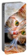 Kitty Strange Portable Battery Charger