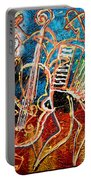Klezmer Music Band Portable Battery Charger