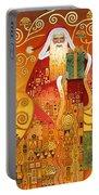 Klimt Santa Portable Battery Charger