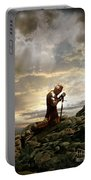 Kneeling Knight Portable Battery Charger