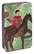 Knight Of Pentacles Portable Battery Charger
