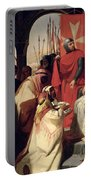 Knights Of The Order Of St John Of Jerusalem Restoring Religion In Armenia Portable Battery Charger