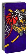 Kobe Bryant Portable Battery Charger by Jeremiah Colley