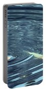 Koi And Sky Reflection Portable Battery Charger