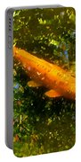 Koi Fish 1 Portable Battery Charger