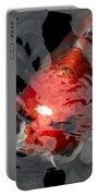 Koi Making Waves Portable Battery Charger