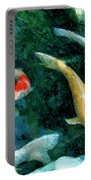 Koi Pond 2 Portable Battery Charger