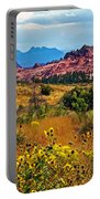 Kolob Terrace Road In Zion National Park-utah Portable Battery Charger
