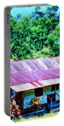 Kona Coffee Shack Portable Battery Charger by Dominic Piperata
