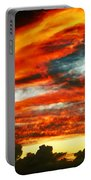 Kona Sunset 77 Lava In The Sky  Portable Battery Charger