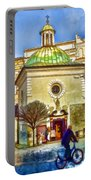Krakow Main Square Old Town  Portable Battery Charger