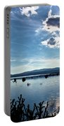 Krbava Field Of Lika Blue Lake Portable Battery Charger