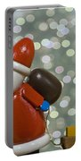 Kris Kringle Portable Battery Charger by Juli Scalzi