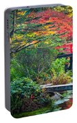 Kubota Gardens In Autumn Portable Battery Charger