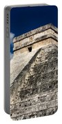 Kukulkan Pyramid At Chichen Itza Portable Battery Charger
