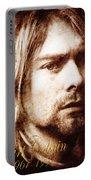 Kurt Cobain Portable Battery Charger