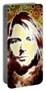 Kurt Cobain Digital Painting Portable Battery Charger