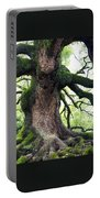 Kyoto Temple Tree Portable Battery Charger by Carol Groenen