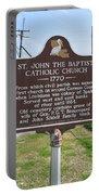 La-024 St John The Baptist Catholic Church 1770 Portable Battery Charger
