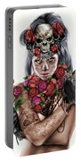 La Calavera Catrina Portable Battery Charger