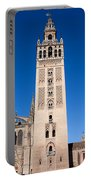 La Giralda Bell Tower In Seville Portable Battery Charger
