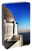 La Griffith Observatory Afternoon Portable Battery Charger