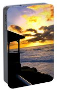 La Jolla At Sunset By Diana Sainz Portable Battery Charger