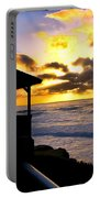 La Jolla At Sunset By Diana Sainz Portable Battery Charger by Diana Sainz