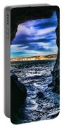 La Jolla Cave By Diana Sainz Portable Battery Charger