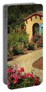 La Posada Gardens In Winslow Arizona Portable Battery Charger