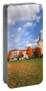 La Roche College On A Fall Day Portable Battery Charger