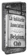 La Solidarite Association Belgium Club Portable Battery Charger
