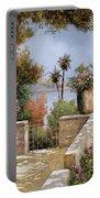 La Terrazza Un Vaso Due Palme Portable Battery Charger