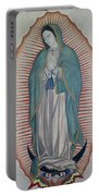 La Virgen De Guadalupe Portable Battery Charger