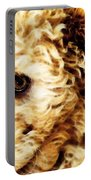 Labradoodle Dog Art - Sharon Cummings Portable Battery Charger