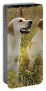 Labrador Retriever Dogs Portable Battery Charger