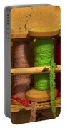 Lace Bobbins Portable Battery Charger