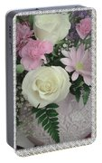 Lace Framed Mothers Day Portable Battery Charger