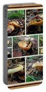 Lactarius Torminosus - Yellow Mushrooms Portable Battery Charger