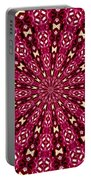 Lacy Orchid Kaleidoscope Portable Battery Charger