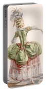 Ladies Evening Gown, Engraved By Dupin Portable Battery Charger