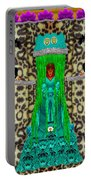 Lady Bear In The Jungle Portable Battery Charger