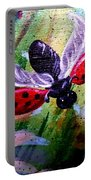 Lady Bug Landing Portable Battery Charger