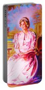 Lady Diana Our Princess Portable Battery Charger