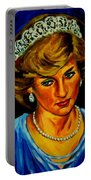 Lady Diana Portrait Portable Battery Charger