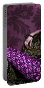 Lady In Pink... Portable Battery Charger